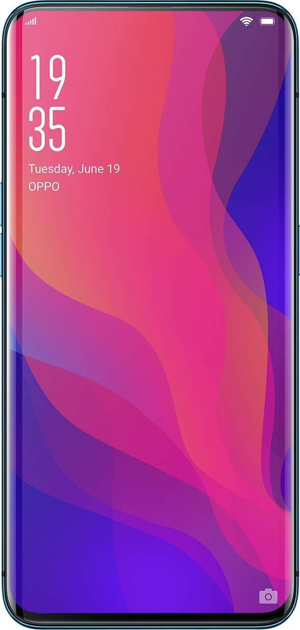 Oppo Find X (Glacier Blue, 8GB RAM, 256GB Storage)